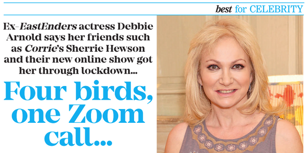 Debbie talks to Best Magazine about the Wonderbirds Show
