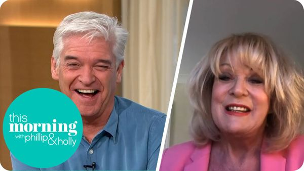 Sherrie Gives Phillip The Giggles on This Morning