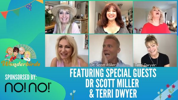 Episode 51 - This Morning Vet Dr Scott Miller & The Fabulous Terry Dwyer Fly Into Our Nest!