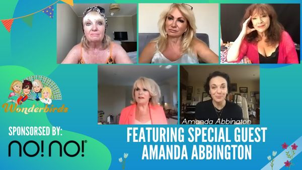 Episode 60 - Sherlock Star AMANDA ABBINGTON Joins Wonderbirds For A Chit Chat!
