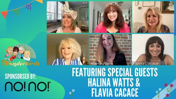 Episode 57 - I'm A Celeb In The UK!? Halina Watts spills the ☕️ + Strictly's Flavia joins us!