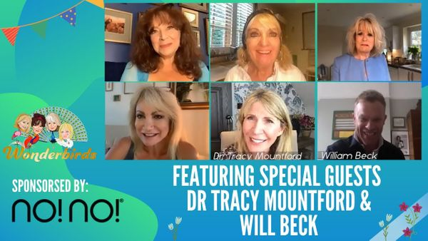 Episode 62 - Will Beck from Casualty Enters Our Nest + Cosmetics with Dr Tracy Mountford!