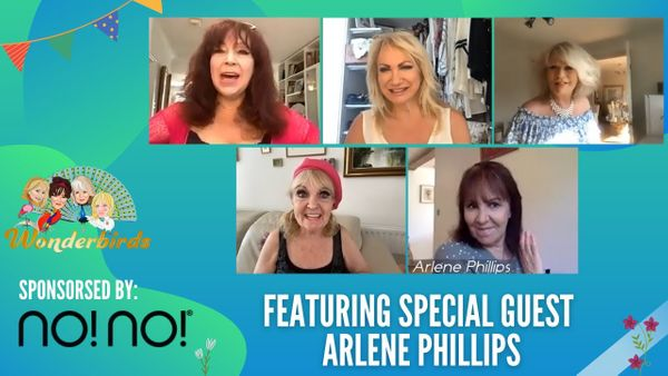 Episode 72  - LEGENDARY Choreographer and Former Strictly Judge Arlene Phillips Join Us