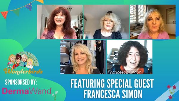 Episode 78 - Author of HORRID HENRY Francesca Simon Flies Into Our Nest!