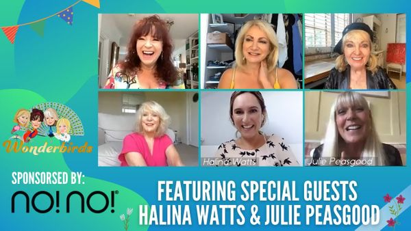 Episode 68 - Latest Showbiz Gossip REVEALED With Halina Watts! + Julie Peasgood Joins Us!