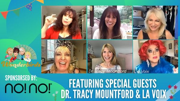 Episode 70 - La Voix & Dr Tracy Mountford are Back For A MAKE UP & COSMETICS Special!