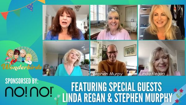 Episode 67 - Actress & Crime Writer Linda Regan & Stephen Murphy Joins Us For A Catch Up!