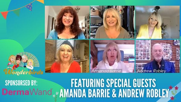 Episode 87 - ICONIC Actress Amanda Barrie Joins US! + The Fabulous Entertainer Andrew Robley!
