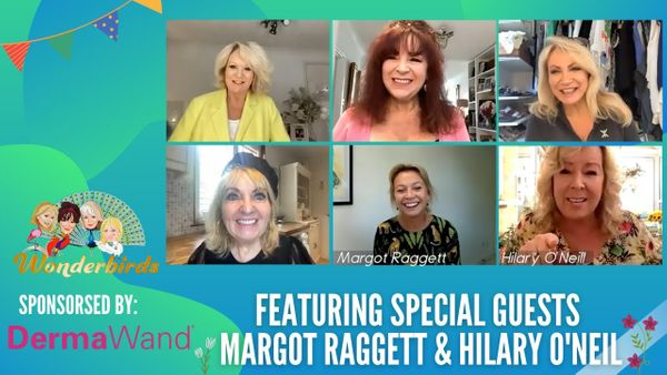 Episode 84 - Wildlife Photographer Margot Raggett & Comedian Hilary O'Neil Fly Into Our Nest!