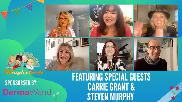 Episode 124 - The wonderful Carrie Grant and Steven Murphy Join us for a chat this afternoon