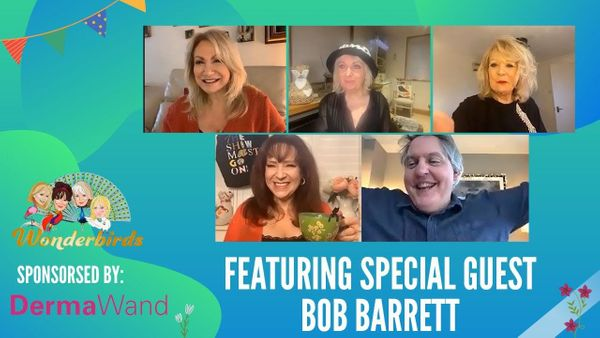 Episode 122 - Holby City's Bob Barrett joins the Wonderbirds this Wednesday afternoon