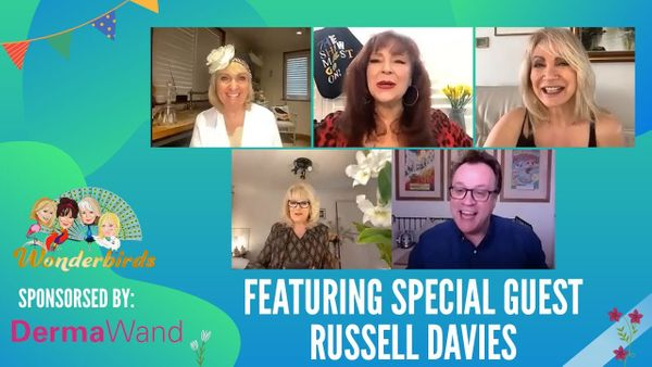 Episode 129 - Russell Davies joins the WonderBirds for a chat about his wonderful new TV series 'It's A Sin'