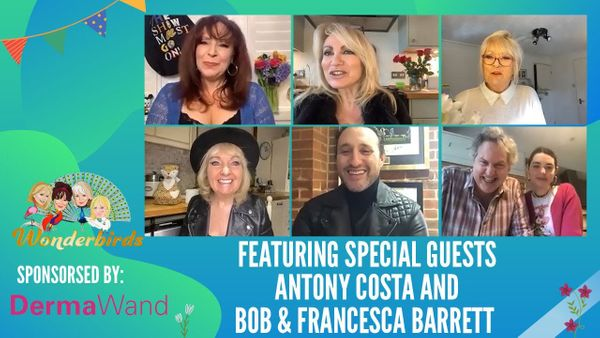 Episode 134 - Antony Costa and Bob Barrett join the WonderBirds for a chat