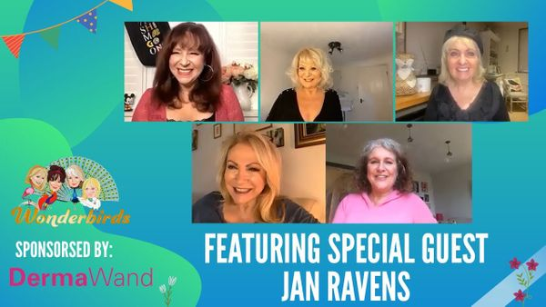 Episode 128 - The WonderBirds are joined by the multi talented actor Jan Ravens!