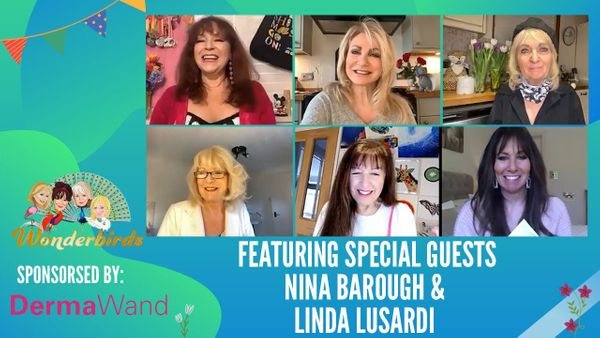 Episode 135 - Nina Barough joins the WonderBirds for an afternoon chat & Linda Lusardi's Bargain Bucket