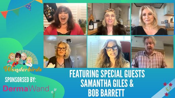 Episode 139-  Bob Barratt and Samantha Giles join the WonderBirds for a Friday afternoon chat